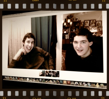 Talking with Max and Micah via Google+